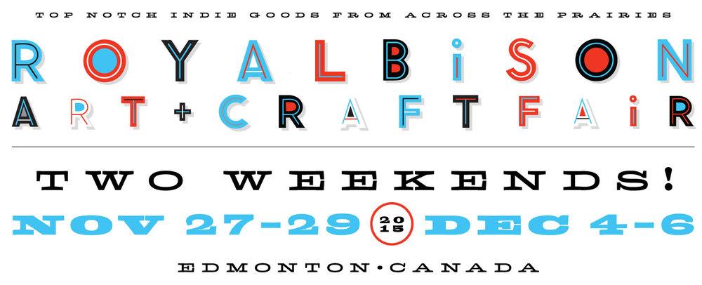 Royal Bison Art + Craft Fair