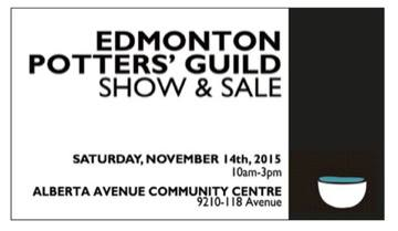 Edmonton Potters Guild Annual Show & Sale
