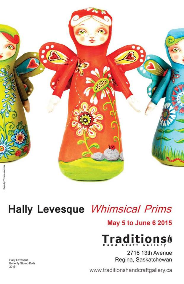 Hally Levesque - Butterfly Stump Dolls