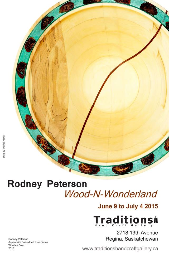 Rodney Peterson - Aspen with Embedded Pinecones