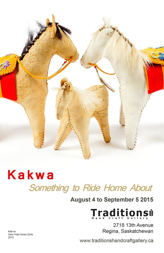 Kakwa - Deer Hide Horse Dolls