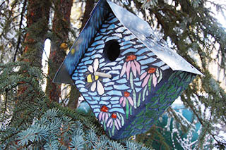 Mosaic Your Own Birdhouse