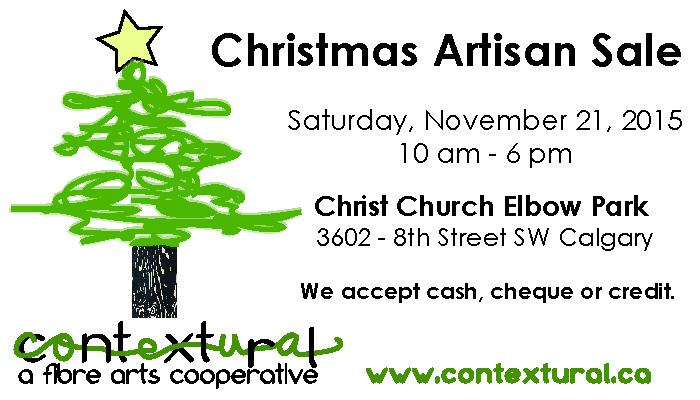 Contextural Christmas Artisan Sale