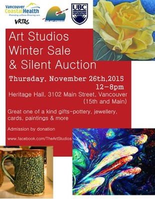 Art Studios Winter Sale & Silent Auction