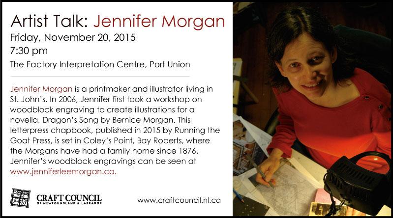 Jennifer Morgan: Artist Talk