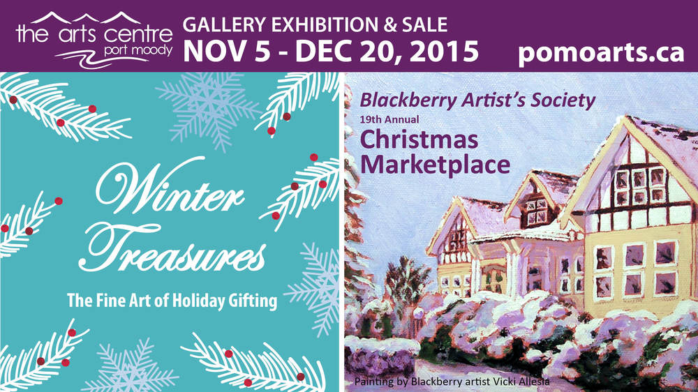 Winter Treasures: The Fine Art of Holiday Gifting & The Blackberry Artist's Society Christmas Market
