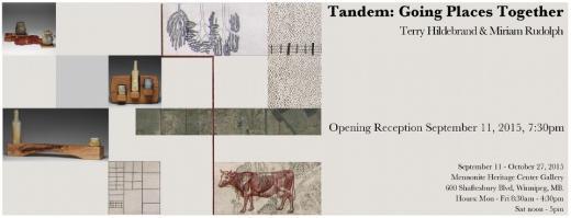 Tandem - Miriam Rudolph and Terry Hildebrandt