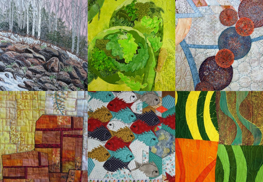 Structures – A textile art exhibition – Studio Art Quilt Associates Atlantic Canada