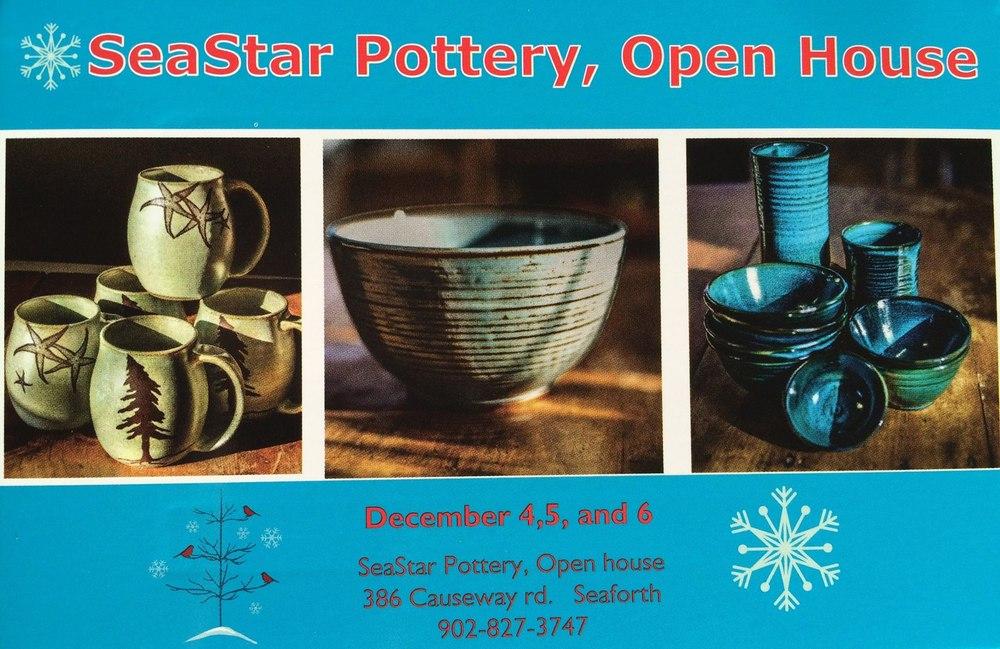 SeaStar Pottery Open House