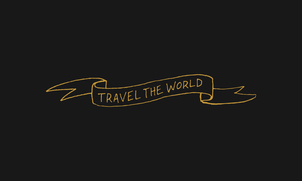 Wanderlust - 17 FREE Hand Drawn Type Vectors