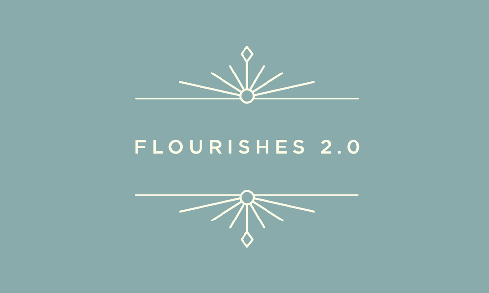 Flourishes 2.0 - 40 free vectors