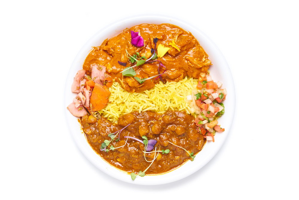GHEE MAKHNI BUTTER mildly spiced butter masala choice of chicken or paneer