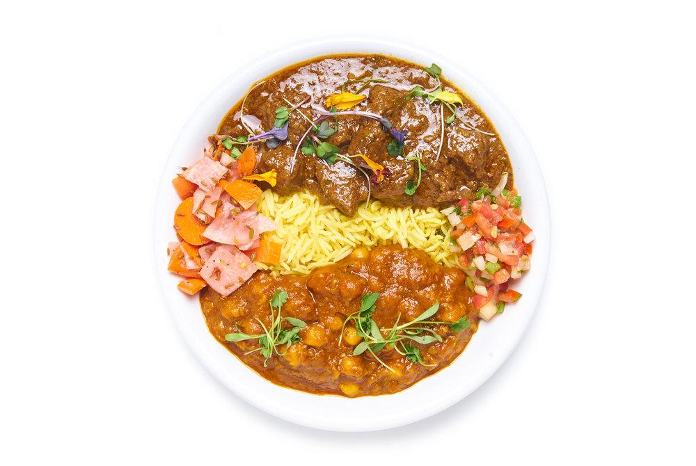 KASHMIRI LAMB a kashmiri stew of lamb shoulder & potatoes