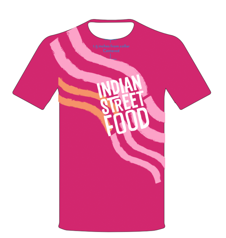 Indian Street Food Brand Shirt