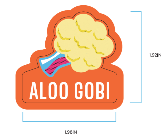 Aloo Gobi Label