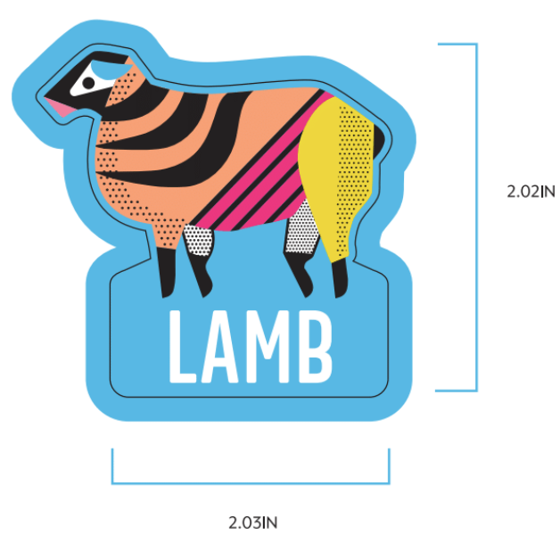 Lamb Label