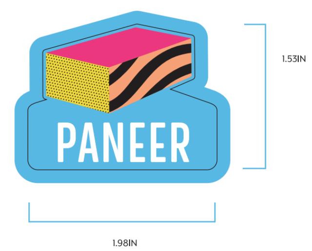 Paneer Label