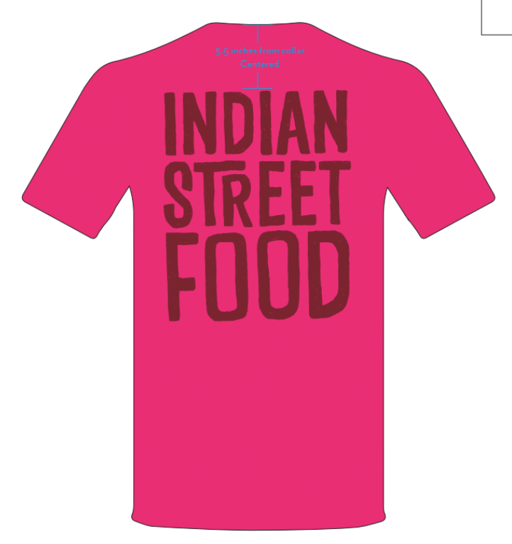 CUN / Indian Street Food Brand Shirt