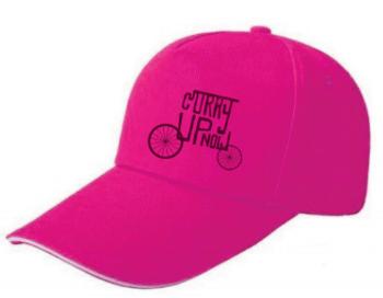 Pink Curry Up Now Cap