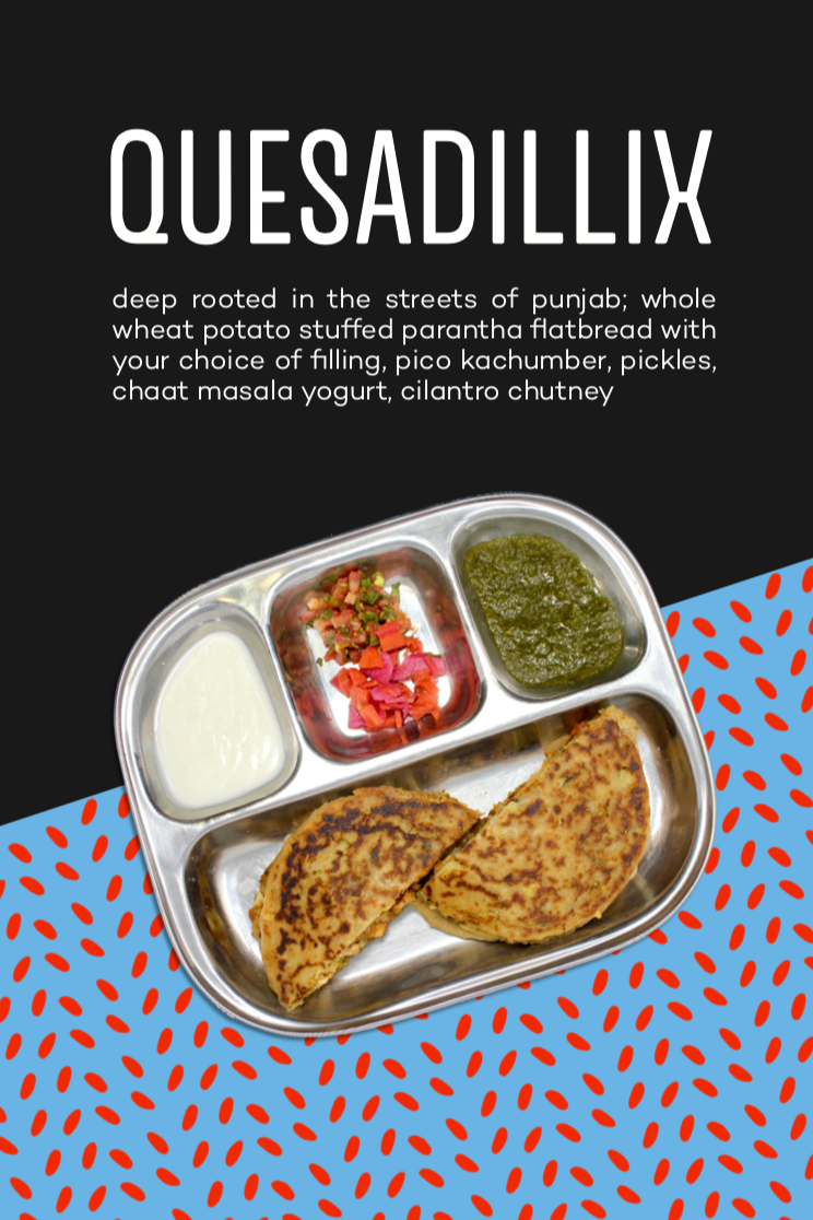 Quesadillix Promo Table Tent