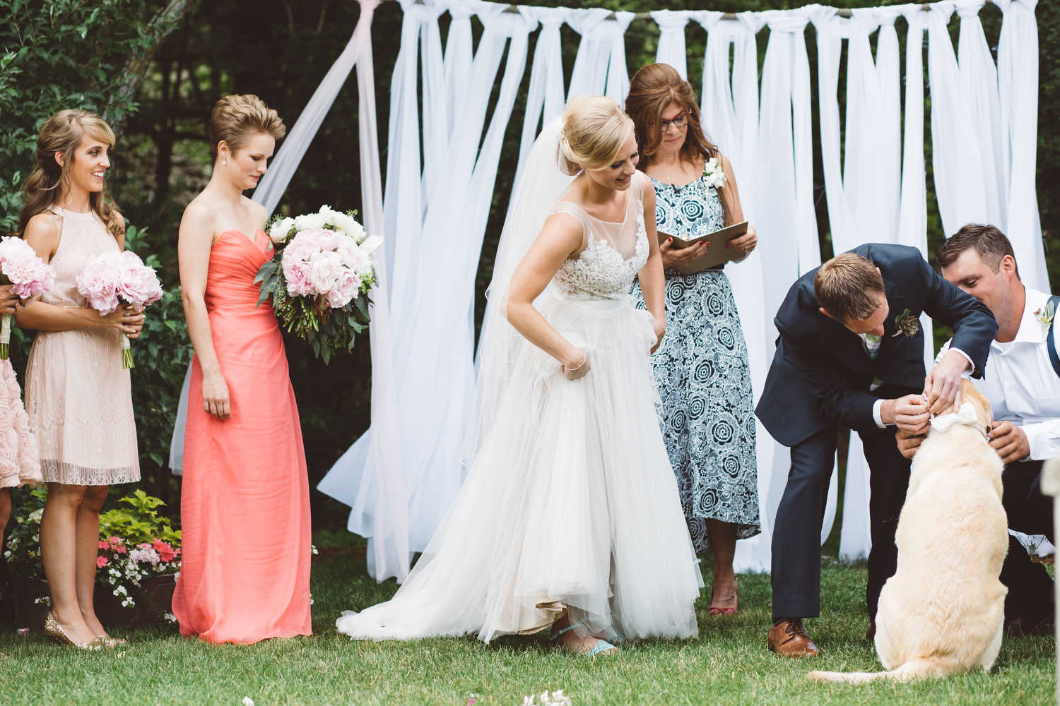 rustic backyard wedding westford massachusetts u2014 leona campbell