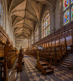Magadelen College Chapel, Oxford. Photo by DAVID ILIFF. License:  CC-BY-SA 3.0