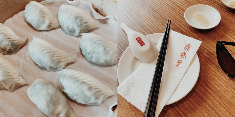 Din Tai Fung for the best dumplings 🥟