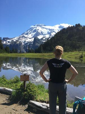 Week of backpacking, camping and hiking in Washington  - Rise Fitness is not just a gym. It is a place to find community, seek inspiration, achieve goals, and have fun. It has helped prepare me mentally and physically for wherever life takes me. Christine V