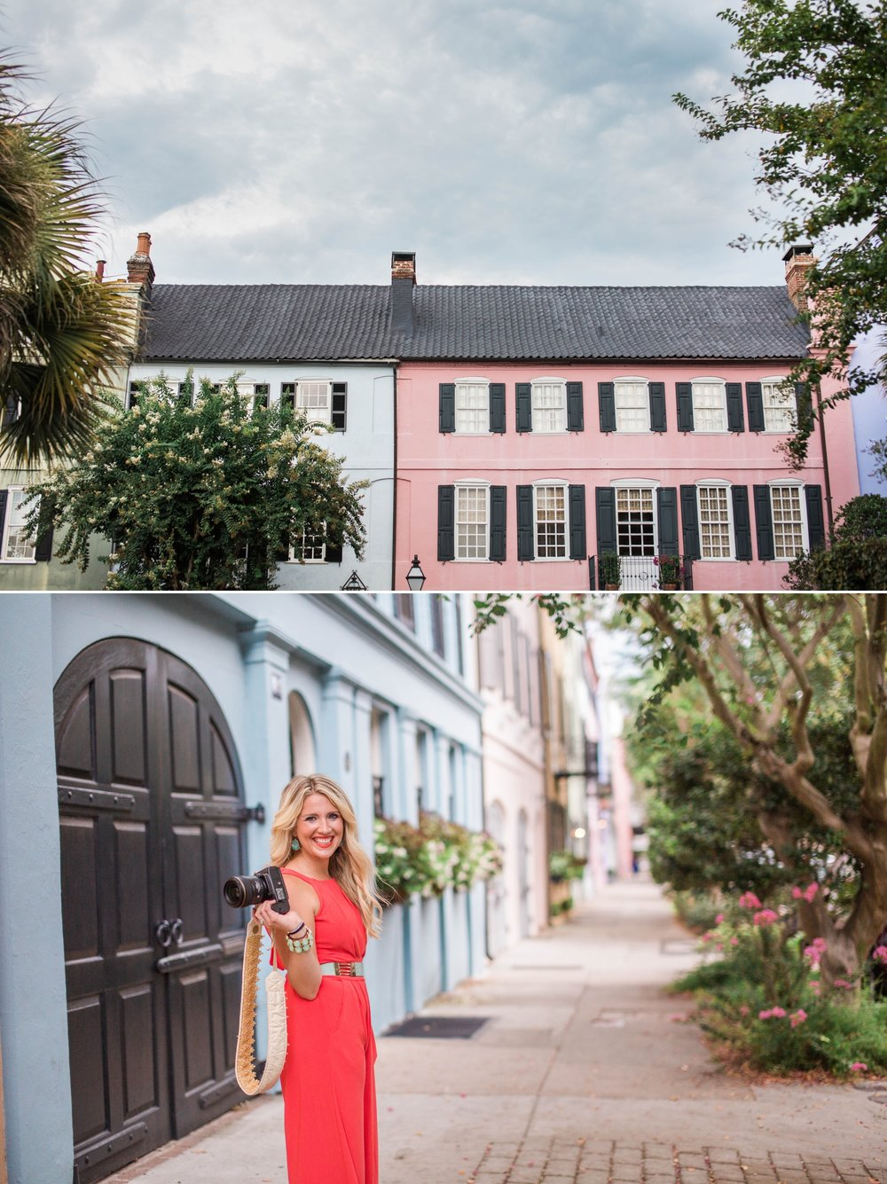 charleston-south carolina-rainbow row-wedding photographer- fort wayne- indiana