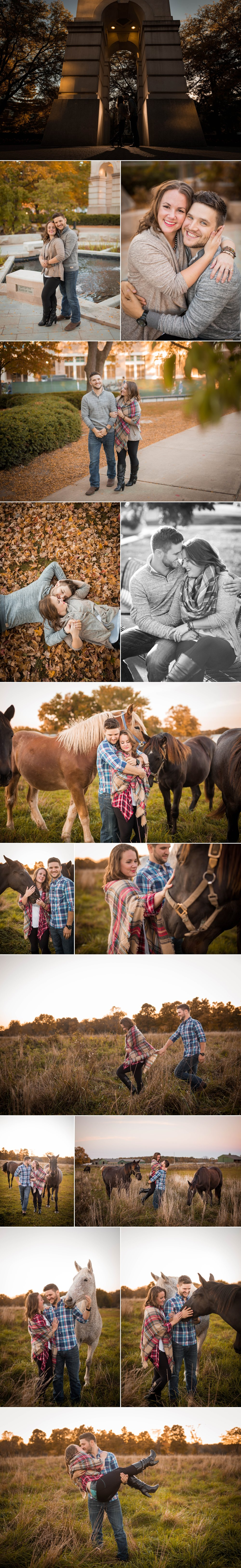 engagement session-farm-horse-purdue university-purdue-lafayette indiana-west lafayette-indiana-fort wayne-fort wayne indiana-indianapolis-wedding photographer-couple-fall
