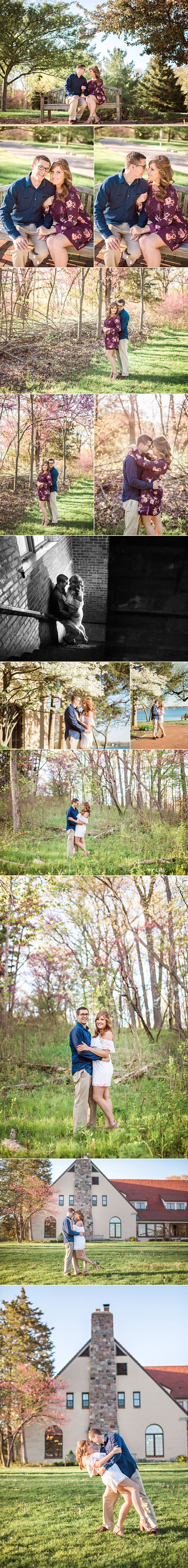 engagement - engaged - love - pokagon state park