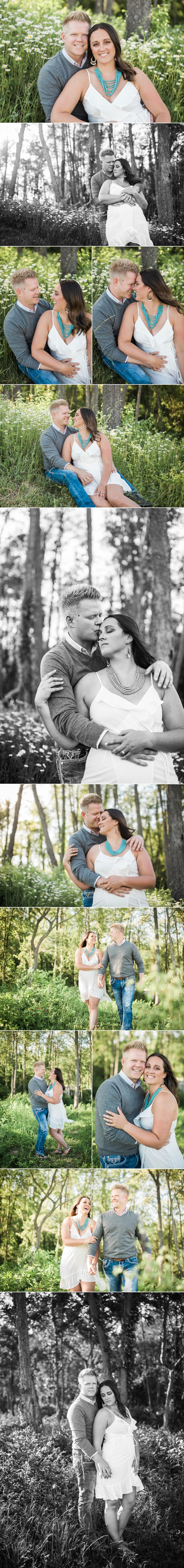 engagement - engaged - engagement session - e session - love - winery - wine - two ee's - sunset - woods