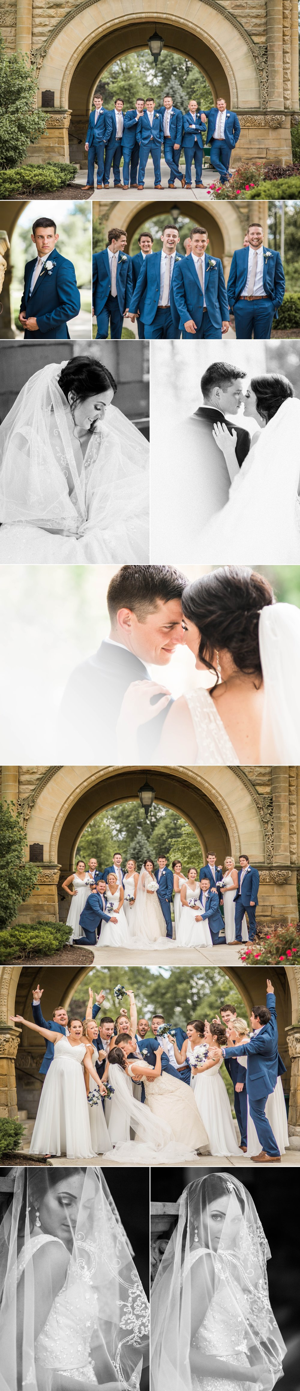 fort wayne - indiana - wedding - bridal details - midwest wedding - bride - groom -wedding day