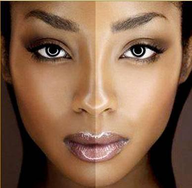 black-skin-lightening