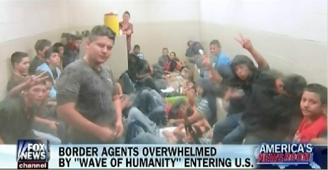 "Media Portrayal of ""Undocumented"" from Fox News Screen Shot via Media Matters"
