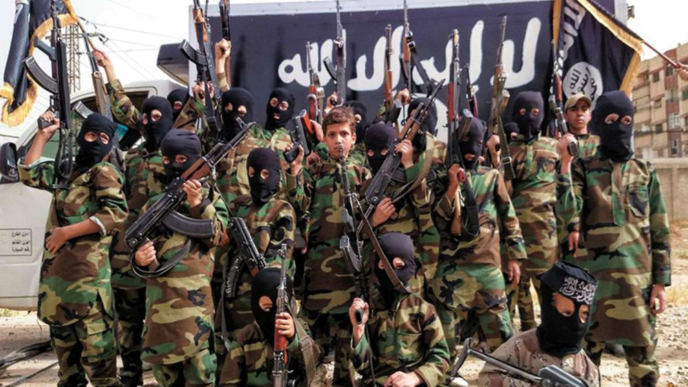"Children militarily recruited by the ""Islamic State"""