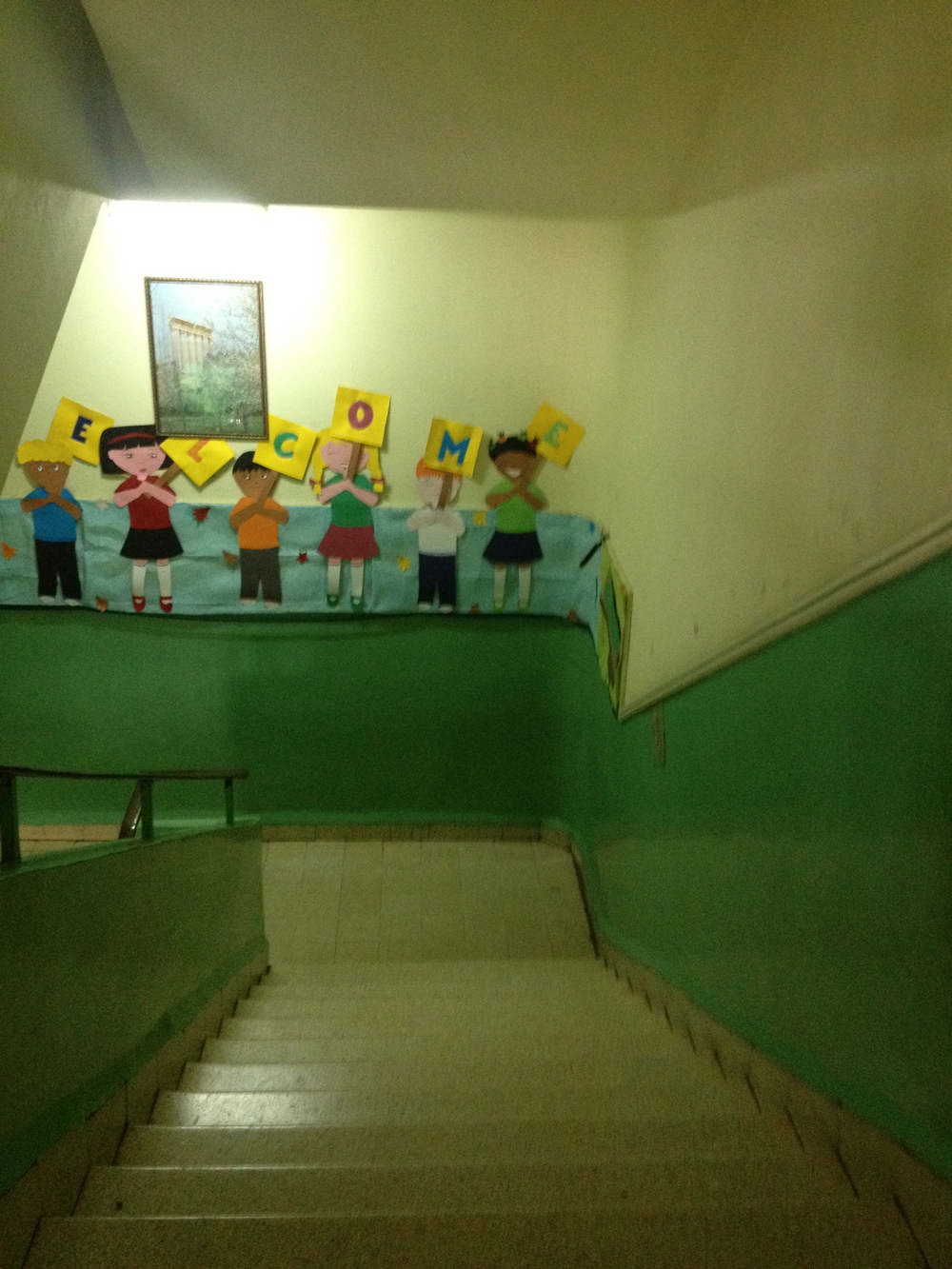 Syrian primary school for refugee children, Tripoli (North Lebanon). Photo taken by Estella Carpi, 2013.