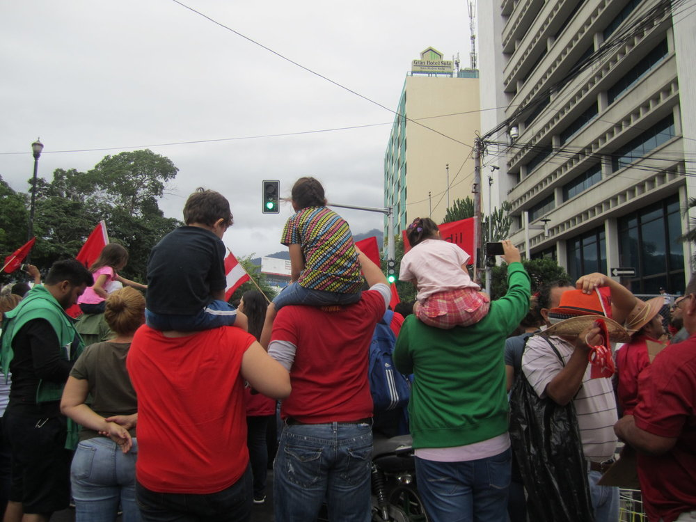 S  an Pedro Sula, Cortés. Domingo, 3 de diciembre. Foto crédito: autora.