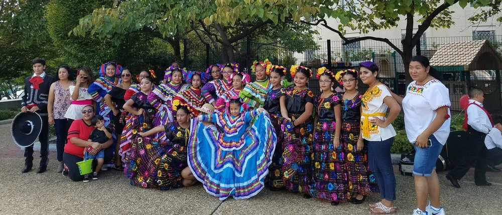 What is the future of immigrant youth? Picture of youth folkloric dance group in a Hispanic festival in Washington DC on September of 2017. Credits: Ernesto Castañeda