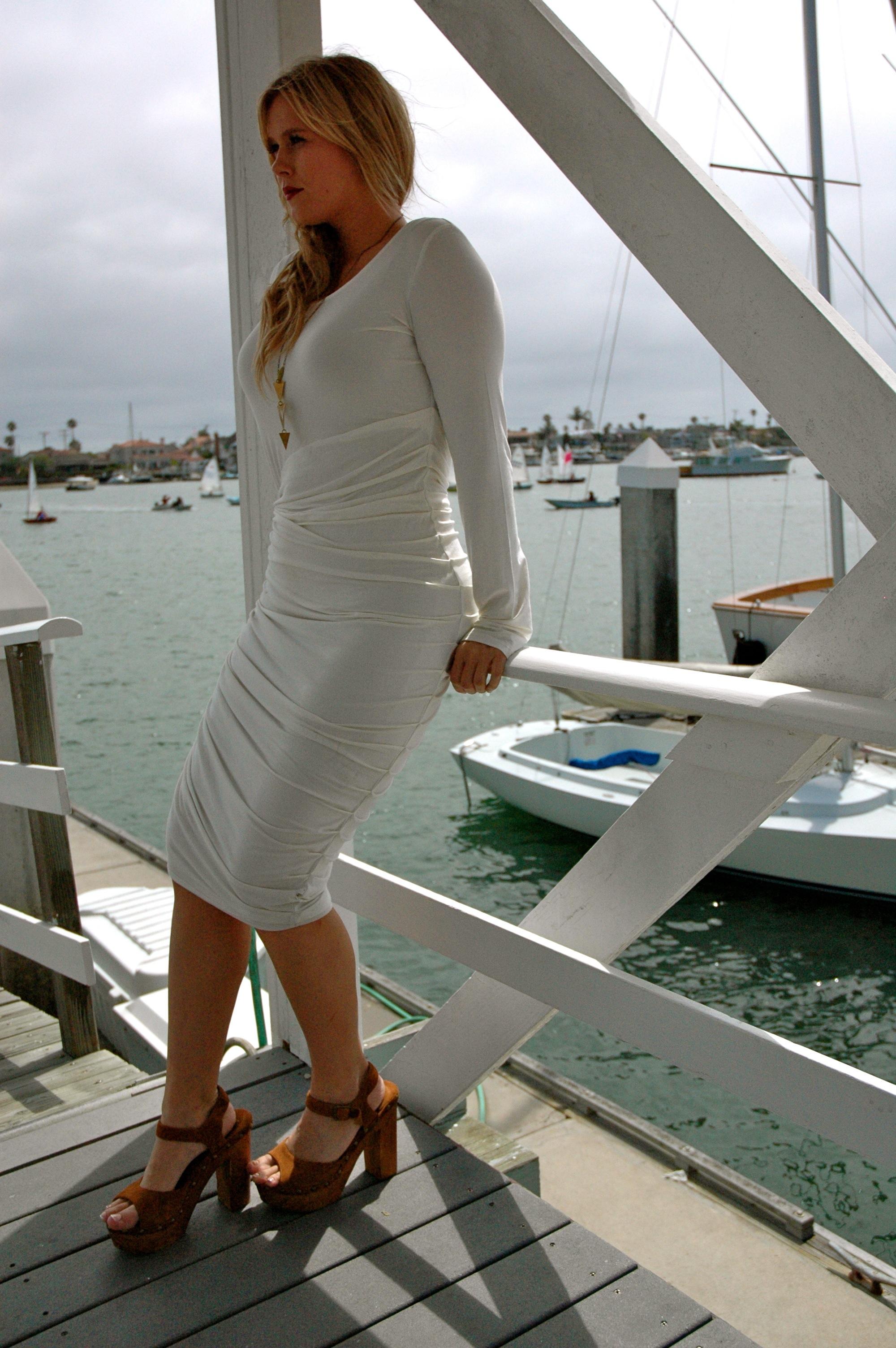 Style White Bodycon Dress Danika Brysha