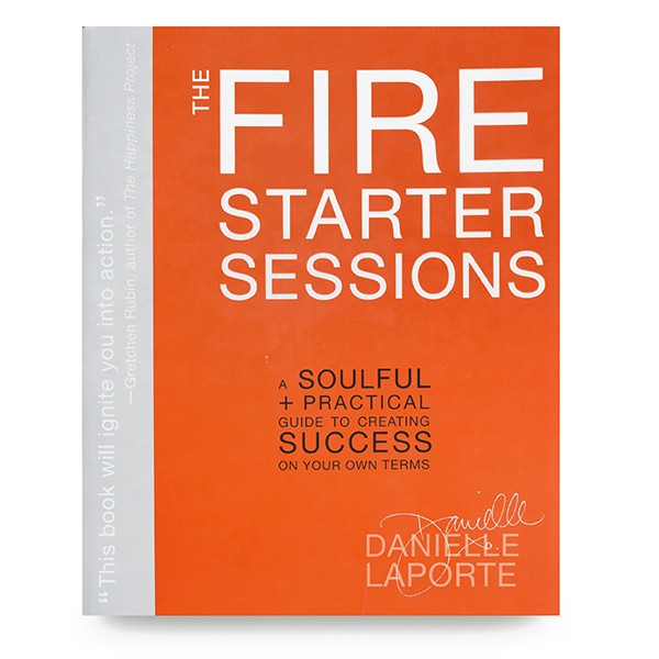 The Firestarter Sessions by Danielle LaPorte   This is my go-to recommendation for anyone searching for answers about what to do or how to live their life. Danielle Laporte asks some of the most thought provoking questions and I love her style. She'll help you to learn how to navigate your life based on how you desire to feel.