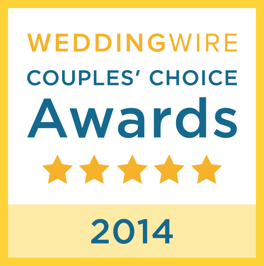 JJTHEDJ.EVENTS - 2014 COUPLE'S CHOICE WEDDING WIRE AWARD