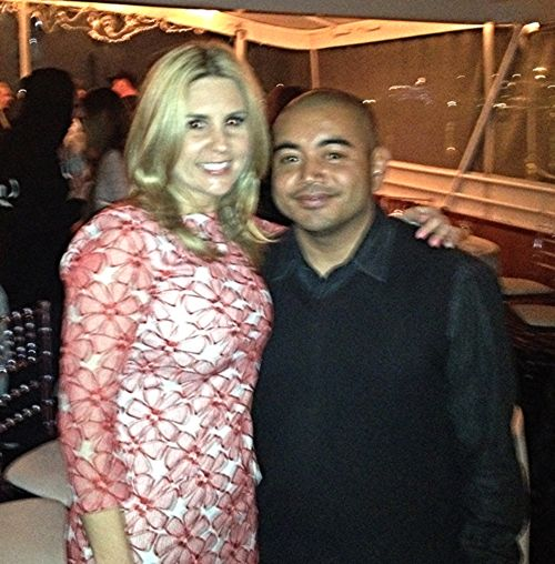 JJ The DJ with Brandi of Storage Wars.