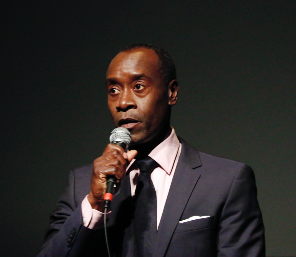 My photo of Don Cheadle at NYFF