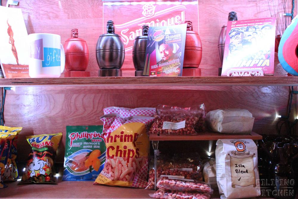 Merchandise at Isla