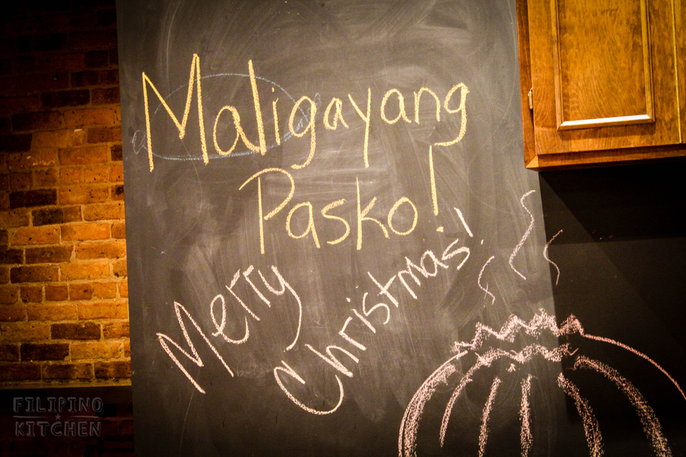 Maligayang Pasko (Merry Christmas in Tagalog)