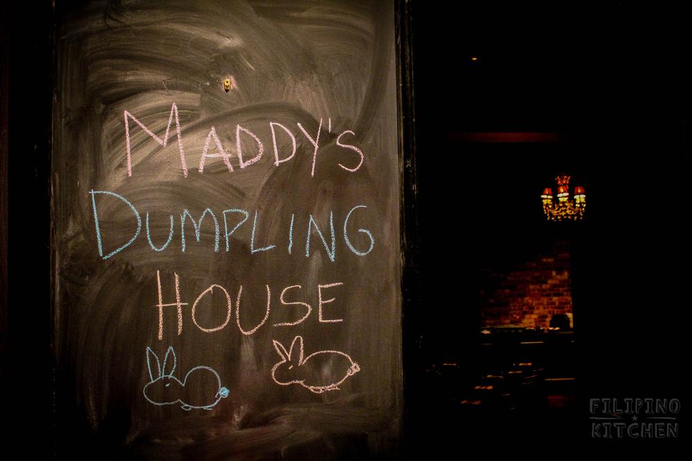 Maddy's Dumpling House Pop-Up Dinner