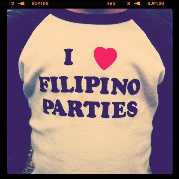 I love Filipino Parties