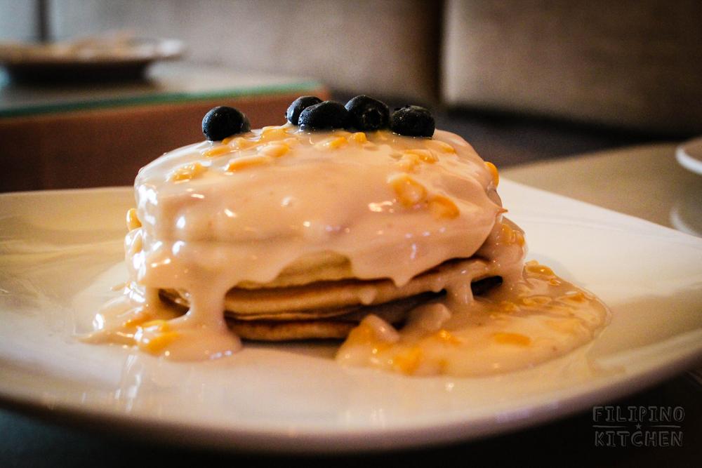 Maja Blanca Pancakes