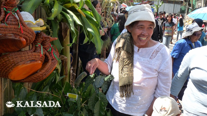 Kalsada coffee producer Auntie Rosita, from Lubon, Mountain Province, Philippines. Photo courtesy of Kalsada.